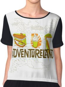 Adventureland Chiffon Top