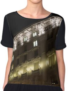 Architecture in Rome, Italy - Just Lift Your Head, Day and Night Chiffon Top