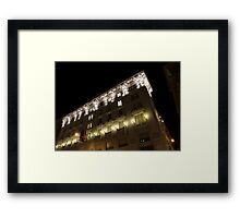 Architecture in Rome, Italy - Just Lift Your Head, Day and Night Framed Print