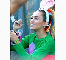 Miley Cyrus Signing Autographs Unisex T-Shirt