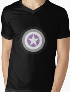 Captain Asexual Mens V-Neck T-Shirt