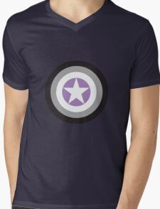 Captain Asexual Mens V-Neck T-Shirt