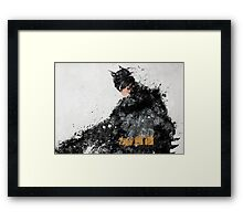 A Hero Framed Print