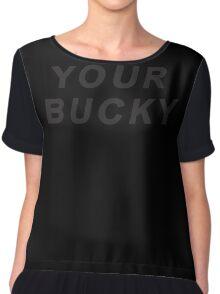 Your Bucky Chiffon Top