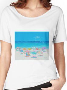 Beach painting - Summer Women's Relaxed Fit T-Shirt