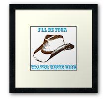 Chris Lane - Walter White High Framed Print