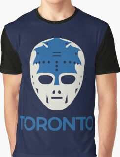 Vintage Toronto 70's Goalie Mask Graphic T-Shirt