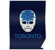 Vintage Toronto 70's Goalie Mask Poster