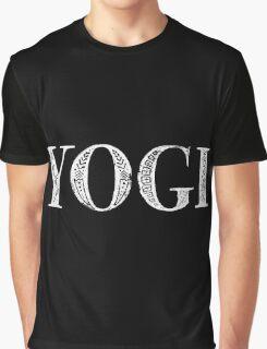 Serif Stamp Type - Yogi inverted Graphic T-Shirt