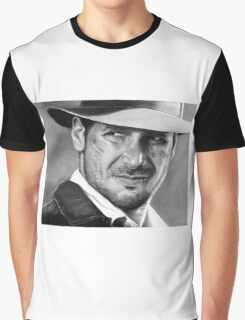 Indiana Jones - Harrison Ford Graphic T-Shirt