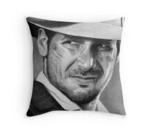 Indiana Jones - Harrison Ford Throw Pillow