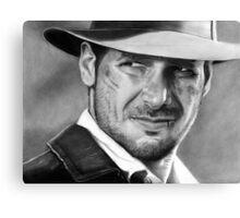 Indiana Jones - Harrison Ford Canvas Print