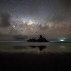 Karekare Milky Way  by earlcooknz