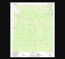 USGS TOPO Map Alabama AL Dogwood Creek 303681 1978 24000 Unisex T-Shirt