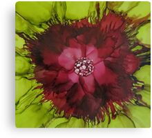 Flowerscape Abstraction Canvas Print