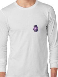 Penguin galaxy tumblr Long Sleeve T-Shirt