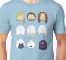 Defiance Minimalistic Character Set  Unisex T-Shirt