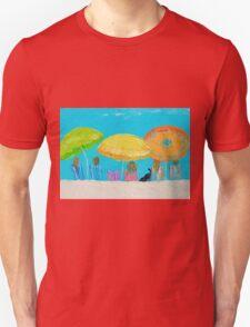 Beach painting - Sunny Days Unisex T-Shirt