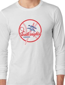 Death Knights - WoW Baseball Series Long Sleeve T-Shirt