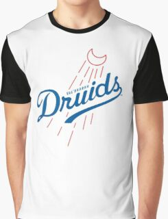 Druids - WoW Baseball  Graphic T-Shirt