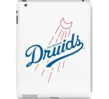 Druids - WoW Baseball  iPad Case/Skin