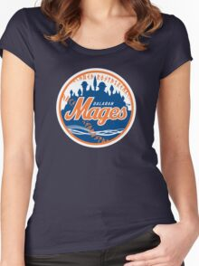 Mages - WoW Baseball  Women's Fitted Scoop T-Shirt