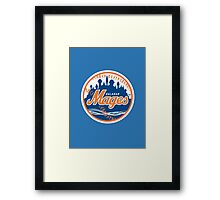Mages - WoW Baseball  Framed Print