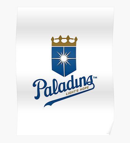 Paladins - WoW Baseball Poster