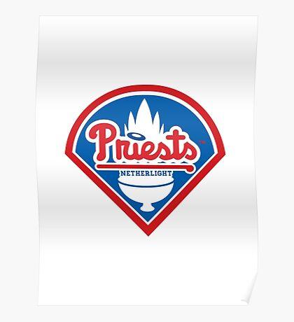Priests - WoW Baseball Poster