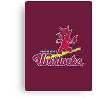 Warlocks - WoW Baseball Series Canvas Print