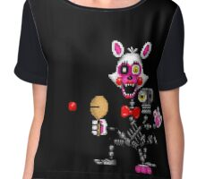 FNAF World - Adventure Mangle - Pixel art Chiffon Top