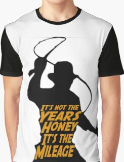 Indiana Jones:  It's the Mileage Graphic T-Shirt