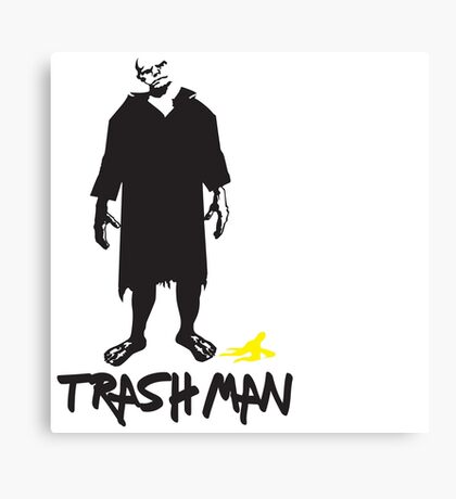 Trashman - X-Files Canvas Print