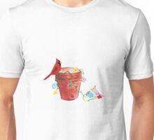 Cardinal and Terra Cotta Unisex T-Shirt