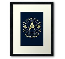 Starfleet Officer In Training (Yellow) Framed Print