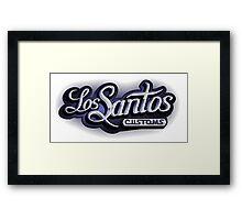 Los Santos Customs - GTA5 Framed Print