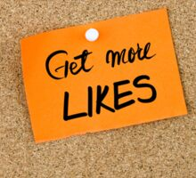 Get More Likes Sticker