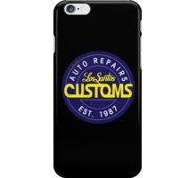 Los Santos Customs Circle Logo iPhone Case/Skin