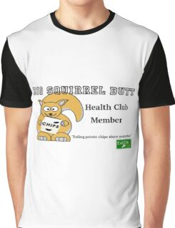 Big Squirrel Butt Graphic T-Shirt