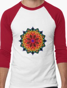 Mandala 105-160505-01 Men's Baseball ¾ T-Shirt