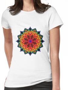 Mandala 105-160505-01 Womens Fitted T-Shirt