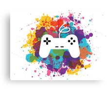 Game control Canvas Print