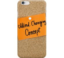 Mind Changing Concept iPhone Case/Skin