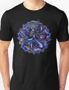 Steampunk Octopus Tentacle Tea Party Unisex T-Shirt