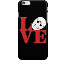 LOVE Friday the 13th iPhone Case/Skin