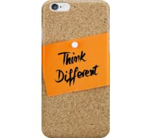 Think Different iPhone Case/Skin