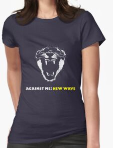 Against Me! punk rock band 2 Womens Fitted T-Shirt