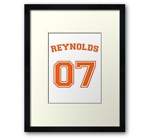 allison reynolds #7 defensive dealer Framed Print