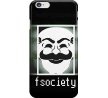 Mr. Robot - fsociety  iPhone Case/Skin