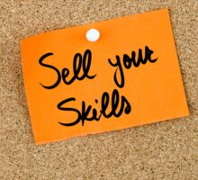 Sell Your Skills Sticker